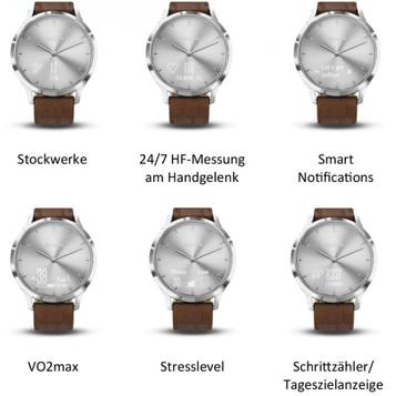 GARMIN vívomove HR Premium Hybrid Smartwatch 010-01850-AD – Bild 5