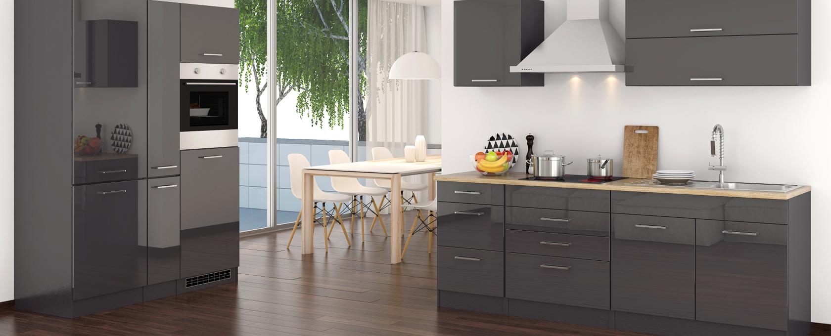 Funktionswunder Küche vereint Stauraum, Arbeitsfläche und Ergonomie