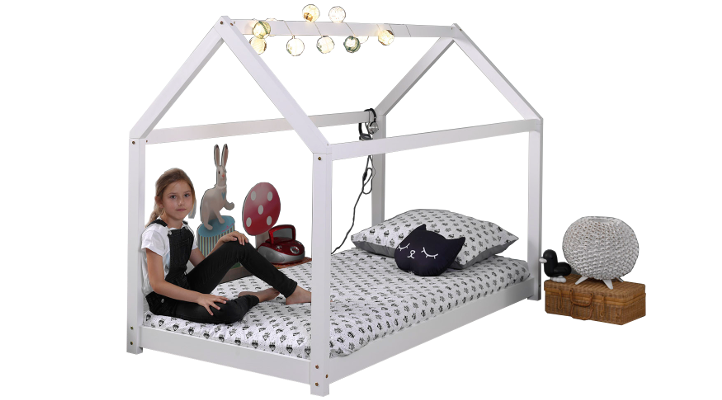 Hausbett ERIK in Weiß