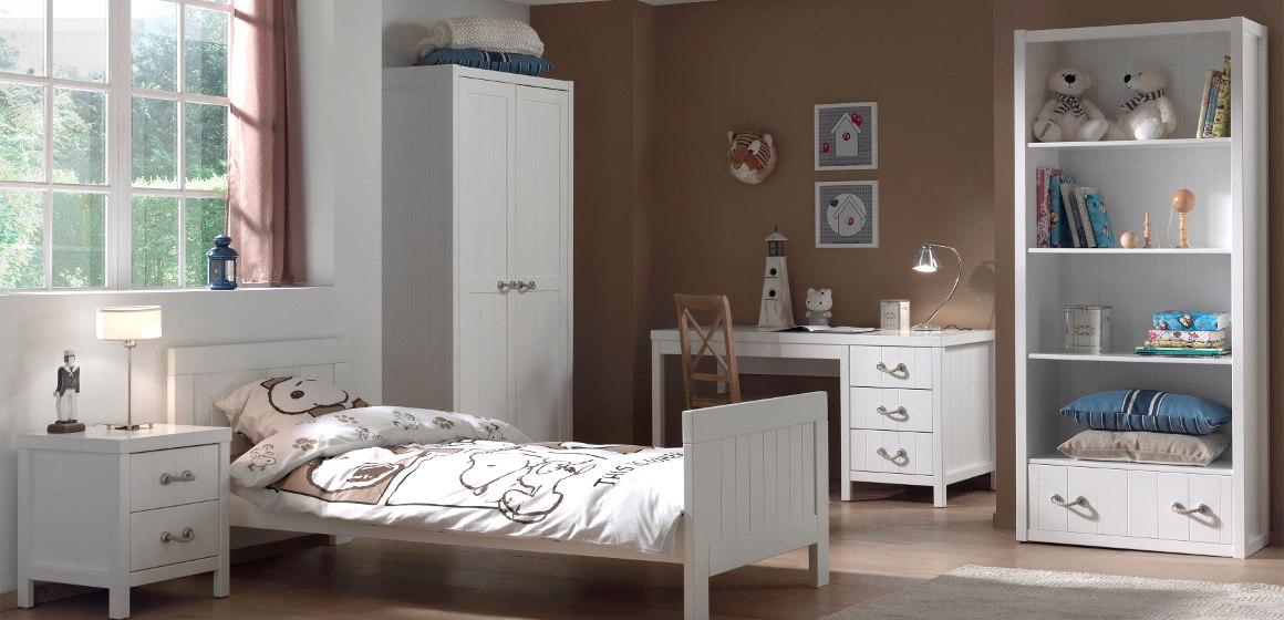 Jugendzimmer LEWIS in Weiß