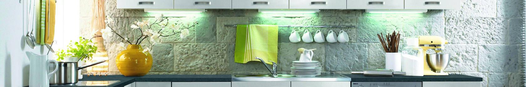 Küchenschränke LUCCA in Weiß