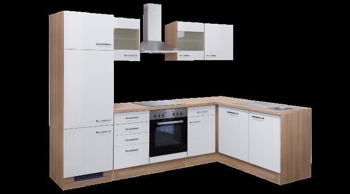 Winkelküche VENEDIG in Weiß