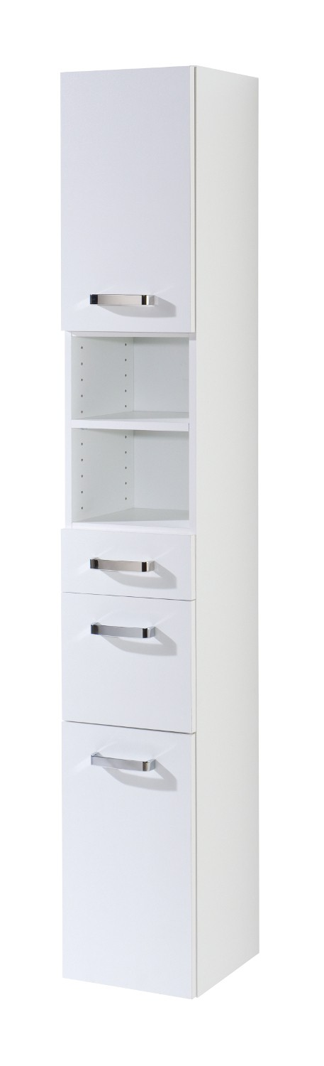 bad hochschrank capri 2 t rig 1 schublade 1 auszug. Black Bedroom Furniture Sets. Home Design Ideas