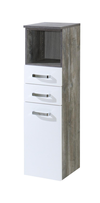 badezimmer midischrank capri midi highboard. Black Bedroom Furniture Sets. Home Design Ideas