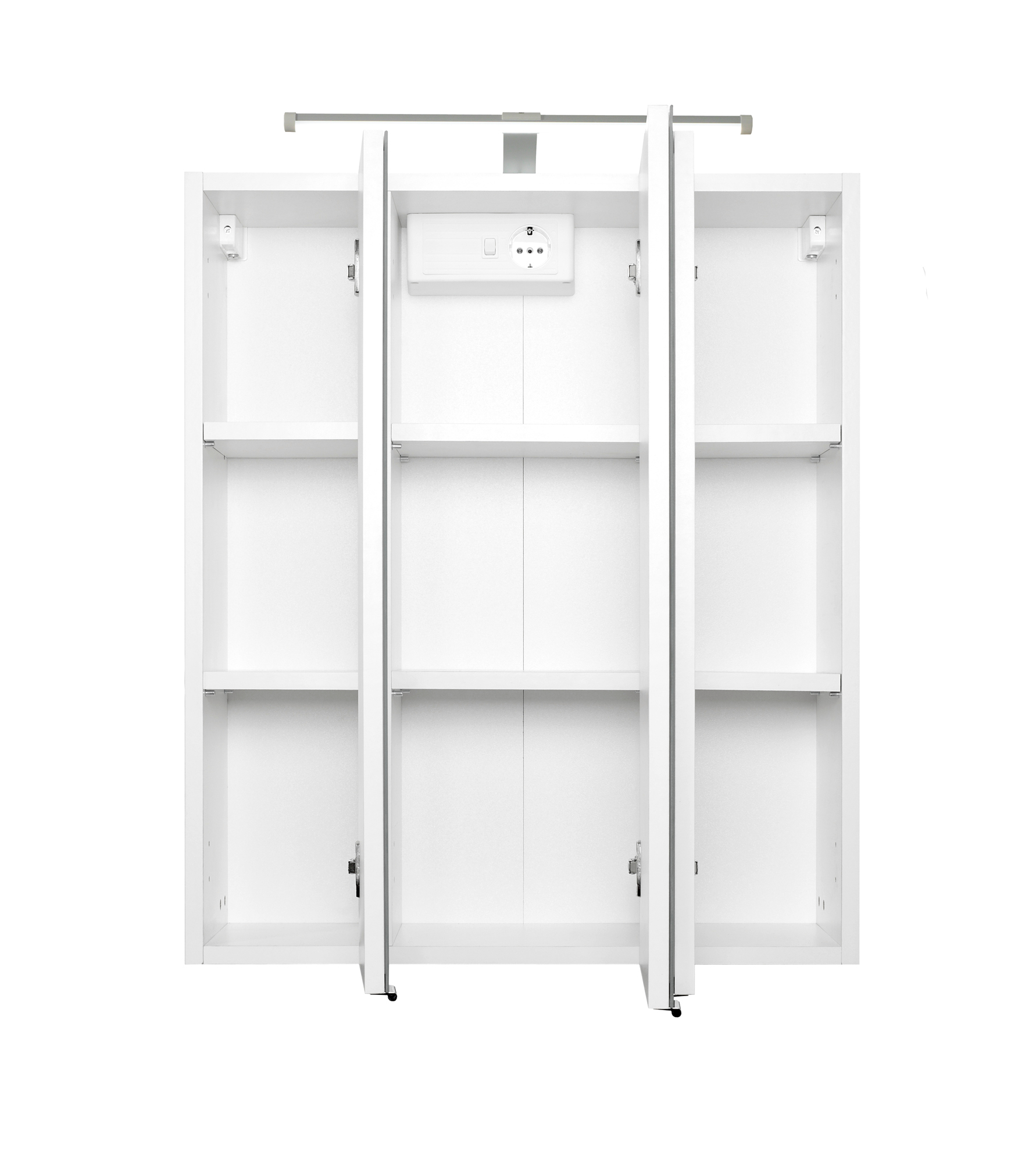 bad spiegelschrank 3 t rig 60 cm breit wei bad spiegelschr nke. Black Bedroom Furniture Sets. Home Design Ideas