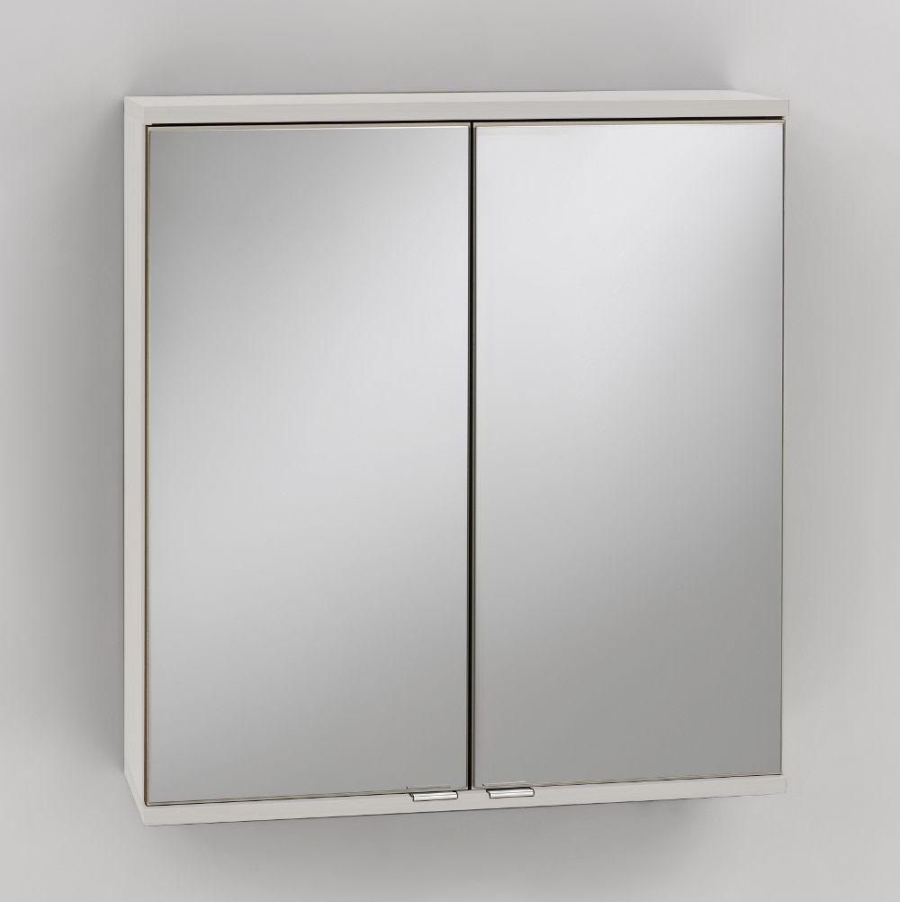 Bad spiegelschrank 2 t rig 60 cm breit wei bad spiegelschr nke - Spiegelschrank bad 60 cm ...