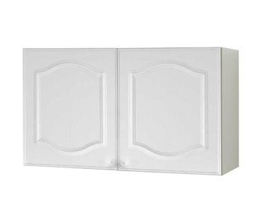 Küchen-Hängeschrank LIST - 2-türig - 100 cm breit - Weiß