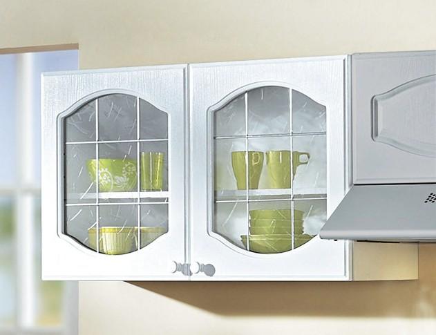 k chen h ngeschrank list glas 2 t rig 100 cm breit. Black Bedroom Furniture Sets. Home Design Ideas