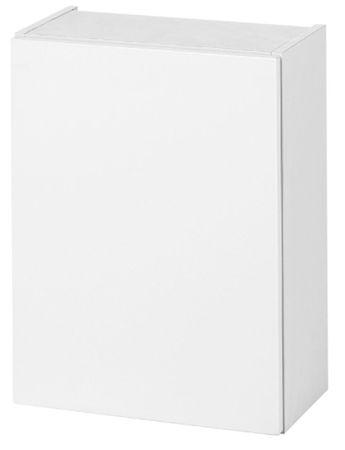 Bad-Hängeschrank SIENA - 1-türig - 40 cm breit - Hochglanz Weiß