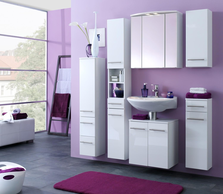bad h ngeschrank small 1 t rig 25 cm breit hochglanz wei bad bad h ngeschr nke. Black Bedroom Furniture Sets. Home Design Ideas