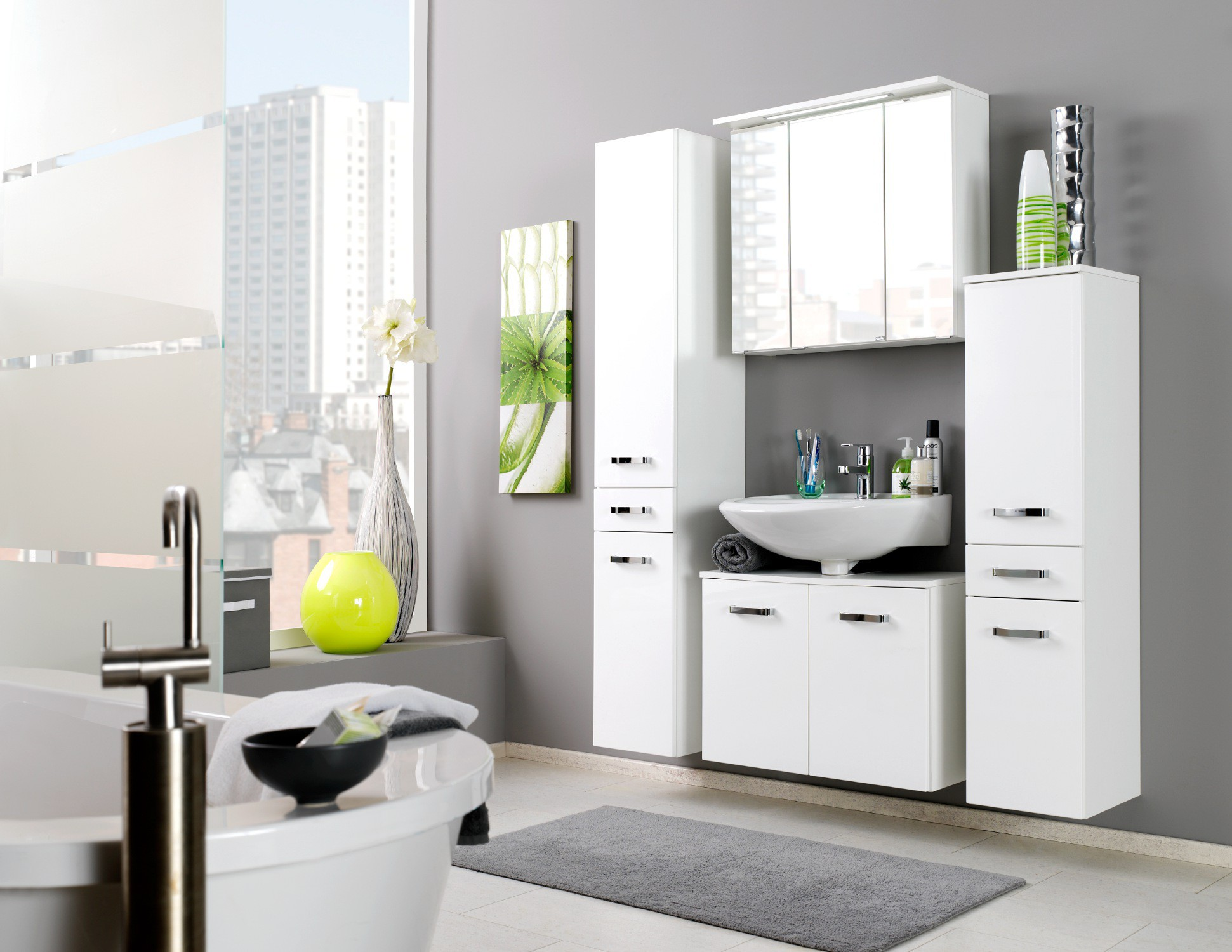 waschbeckenunterschrank bologna waschtisch unterschrank badschrank 60 cm weiss ebay. Black Bedroom Furniture Sets. Home Design Ideas