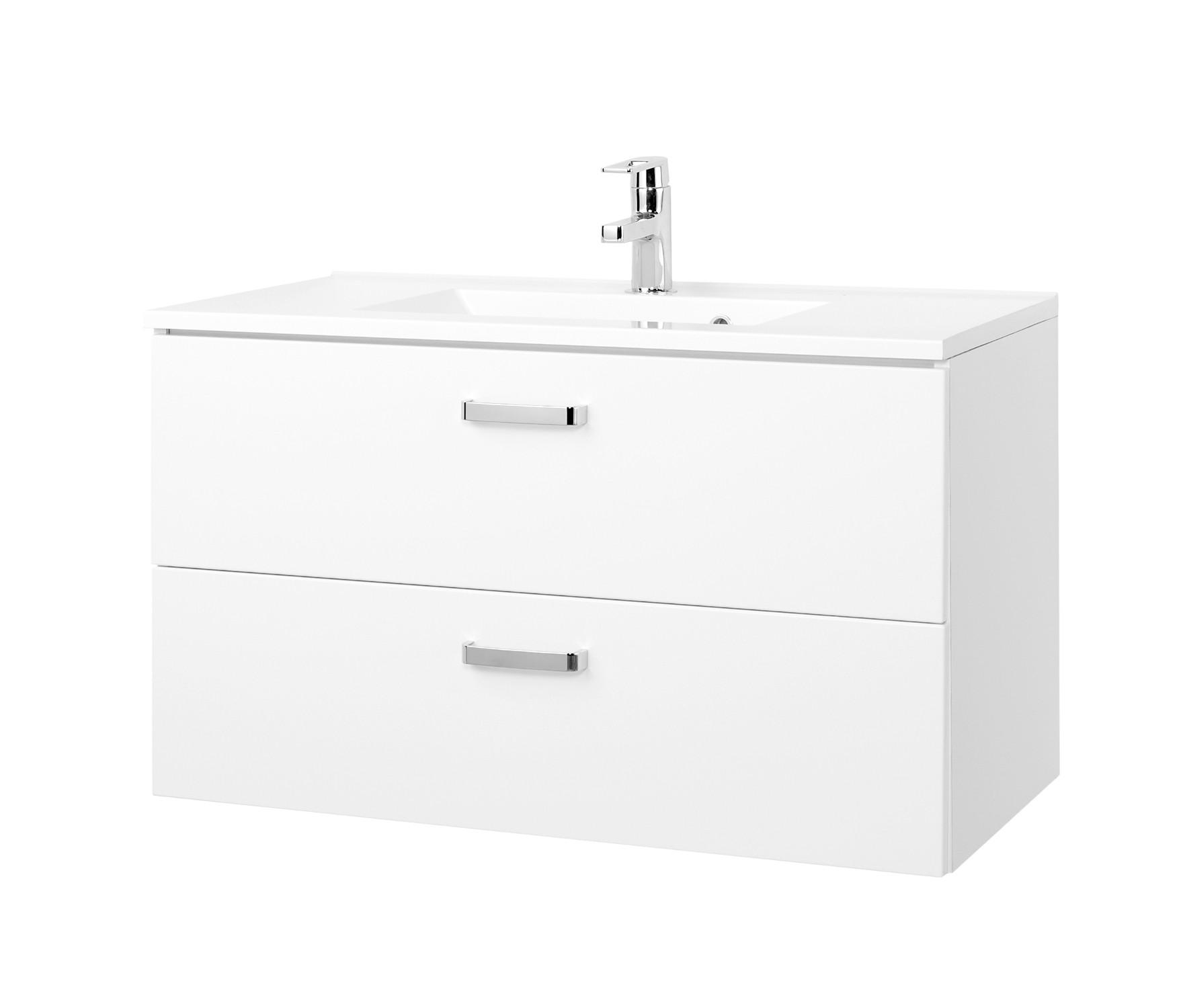 Waschtisch Mit Unterschrank 90 Cm Auszüge Waschtischunterschrank