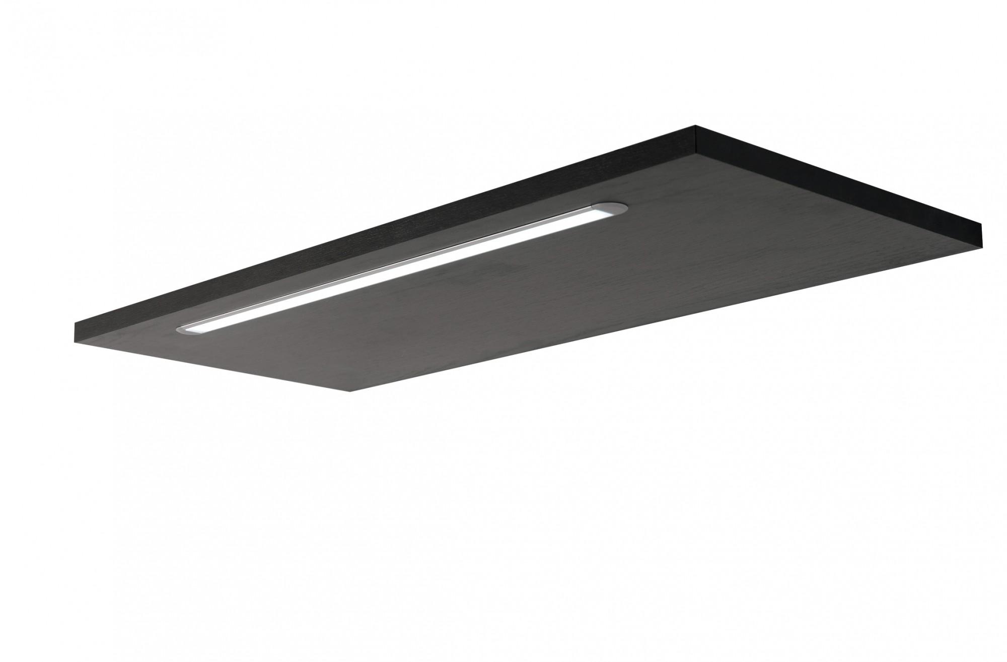 bad spiegelschrank bologna 3 t rig mit led lichtleiste 70 cm breit graphitgrau bad. Black Bedroom Furniture Sets. Home Design Ideas