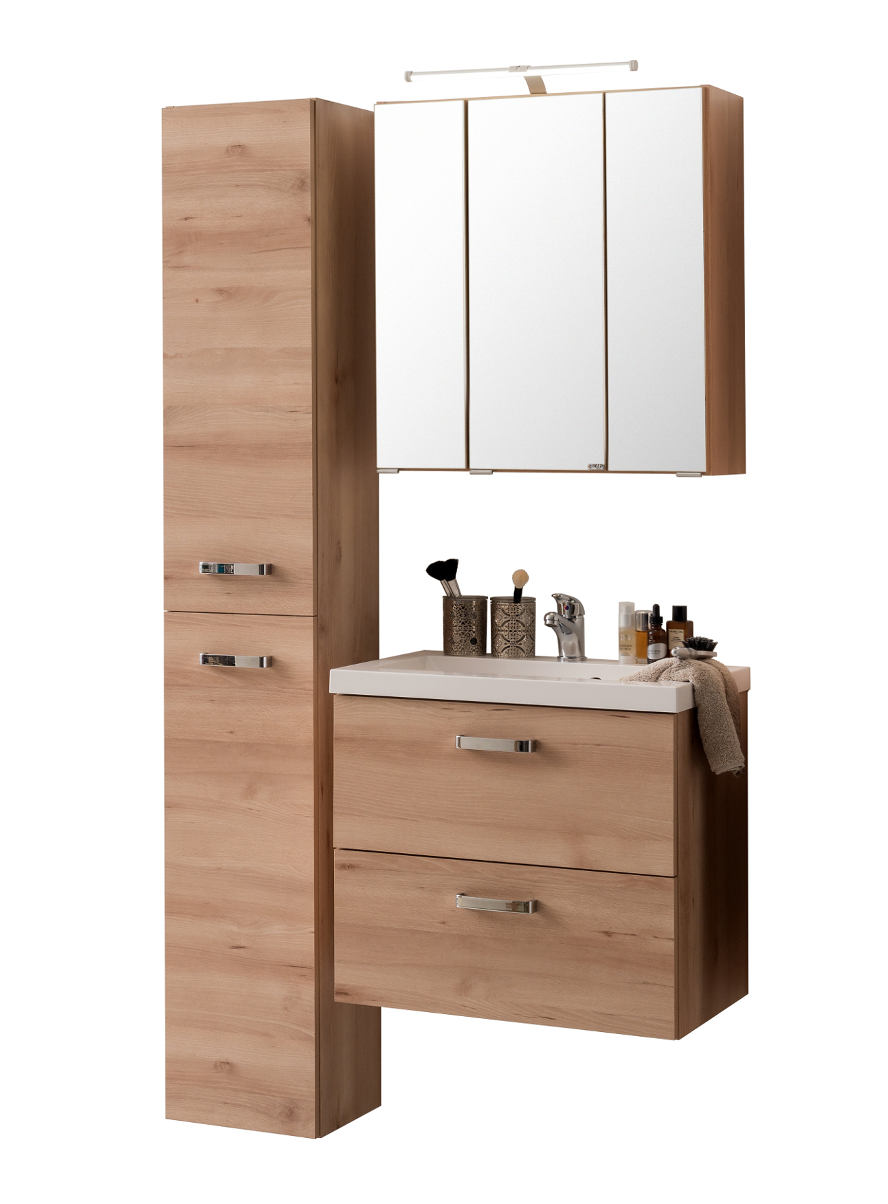 Badm bel set montreal mit spiegelschrank 5 teilig 90 - Spiegelschrank 90 cm breit ...