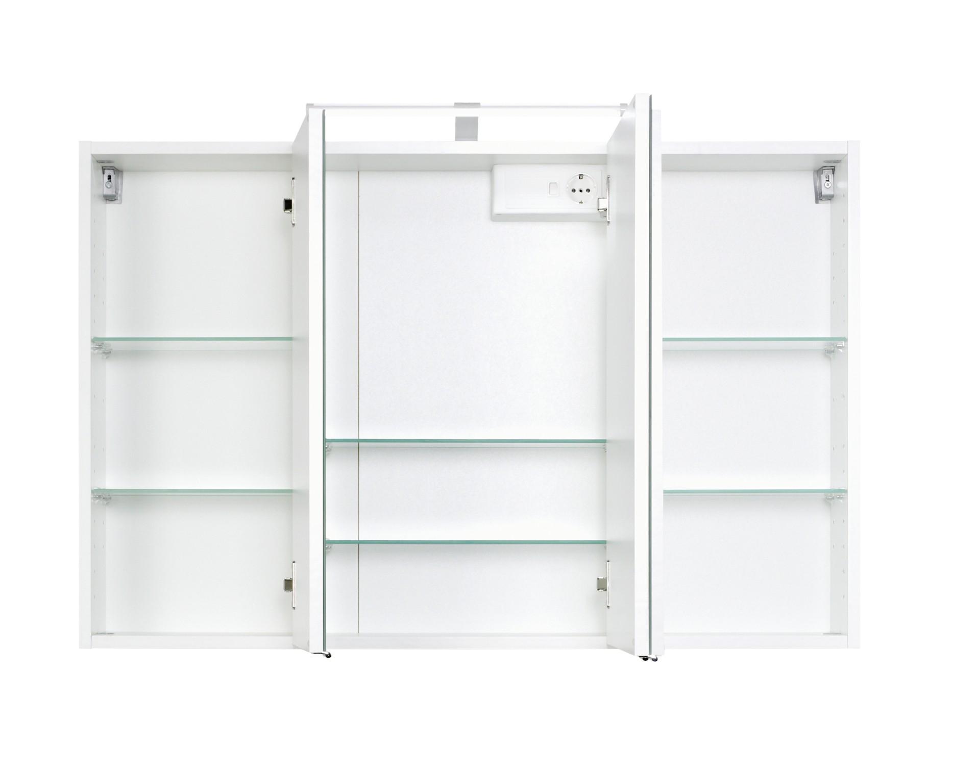 badmöbel-set florida - mit waschtisch und spiegelschrank - 4, Badezimmer ideen