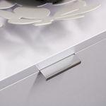 Sideboard MARIE - 4-türig - 190 cm breit - Hochglanz Weiß