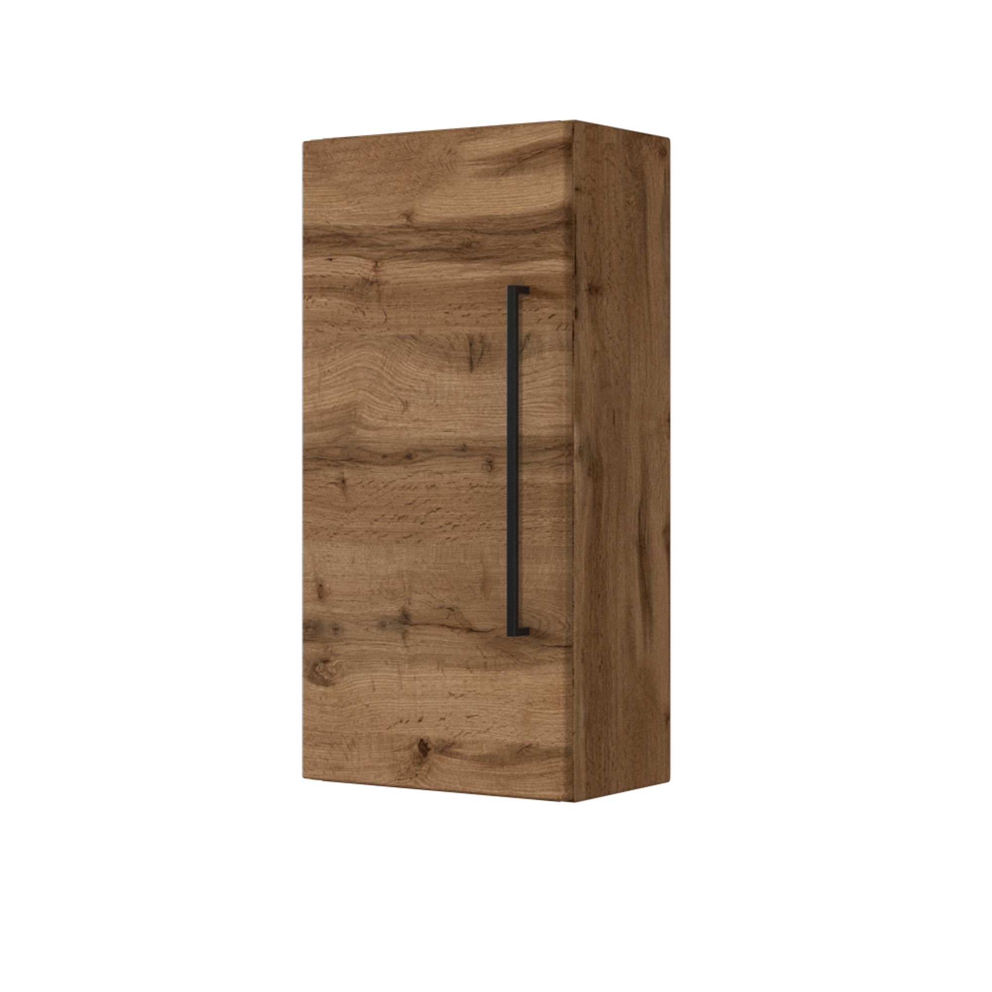 Details zu Badezimmer Hängeschrank Bad Badschrank Badmöbel  Badezimmerschrank wotan-eiche