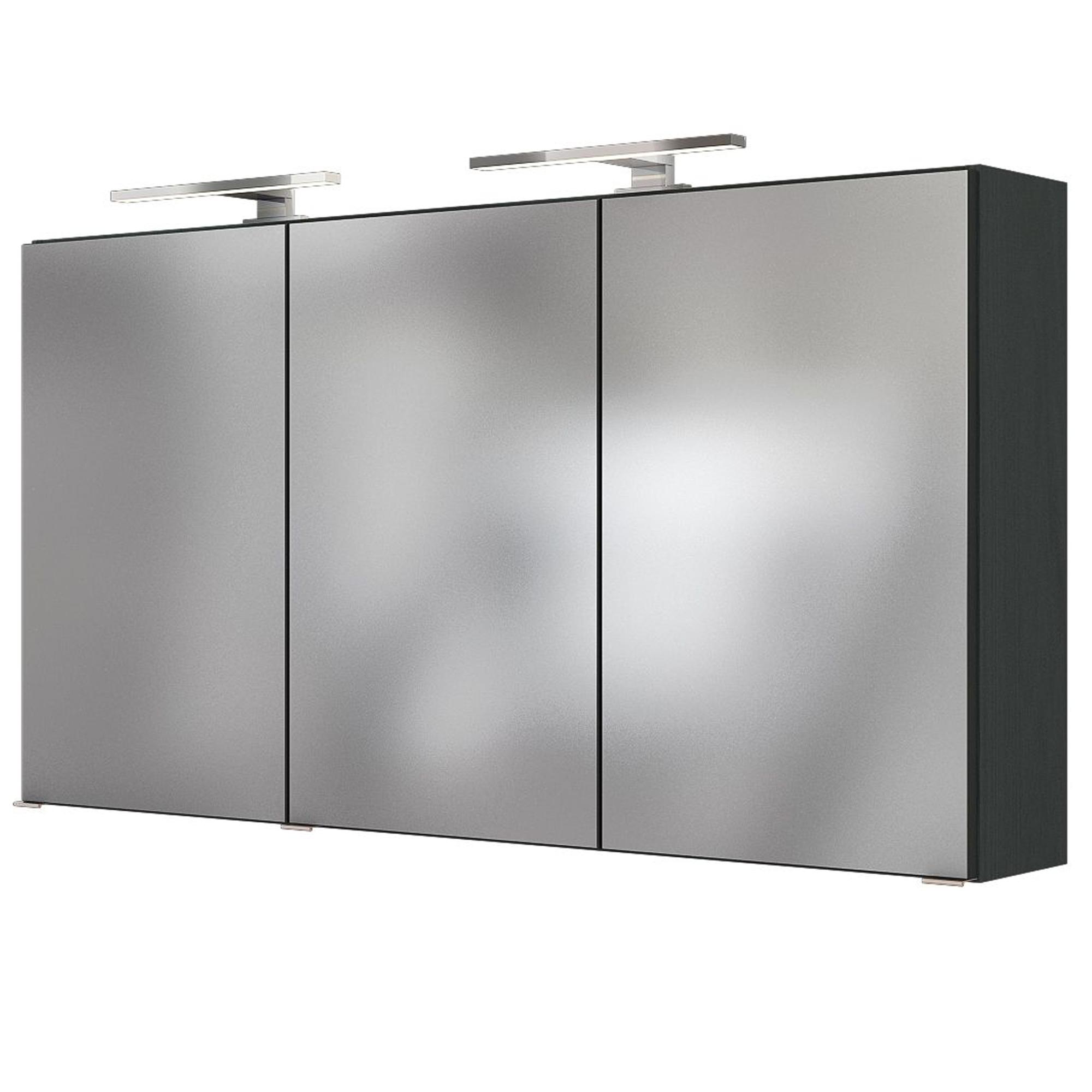 Bad spiegelschrank baabe 3 t rig mit beleuchtung 120 for Spiegelschrank bad 120 cm
