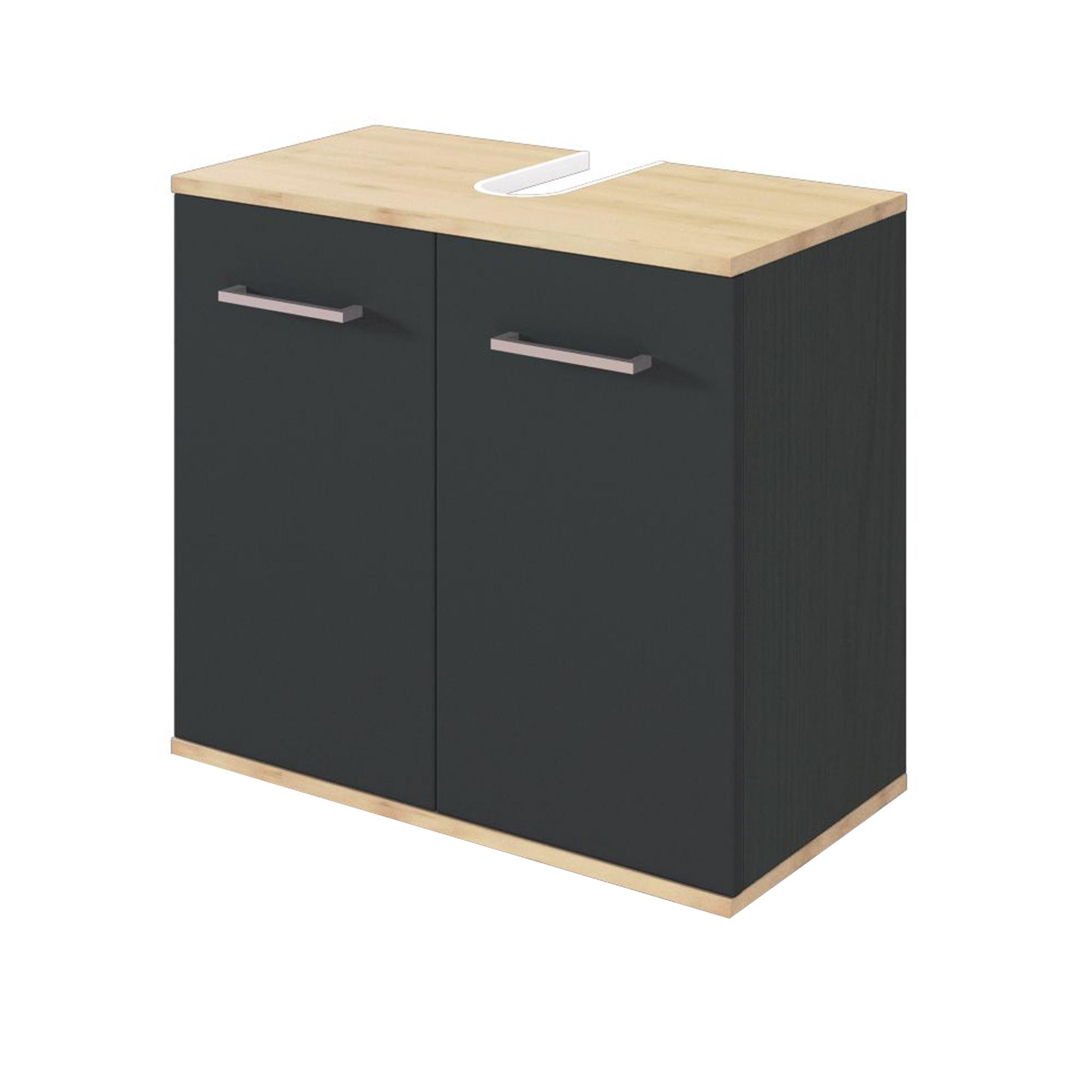 Bad waschbeckenunterschrank lynd 2 t rig 60 cm breit for Bad waschbeckenunterschrank