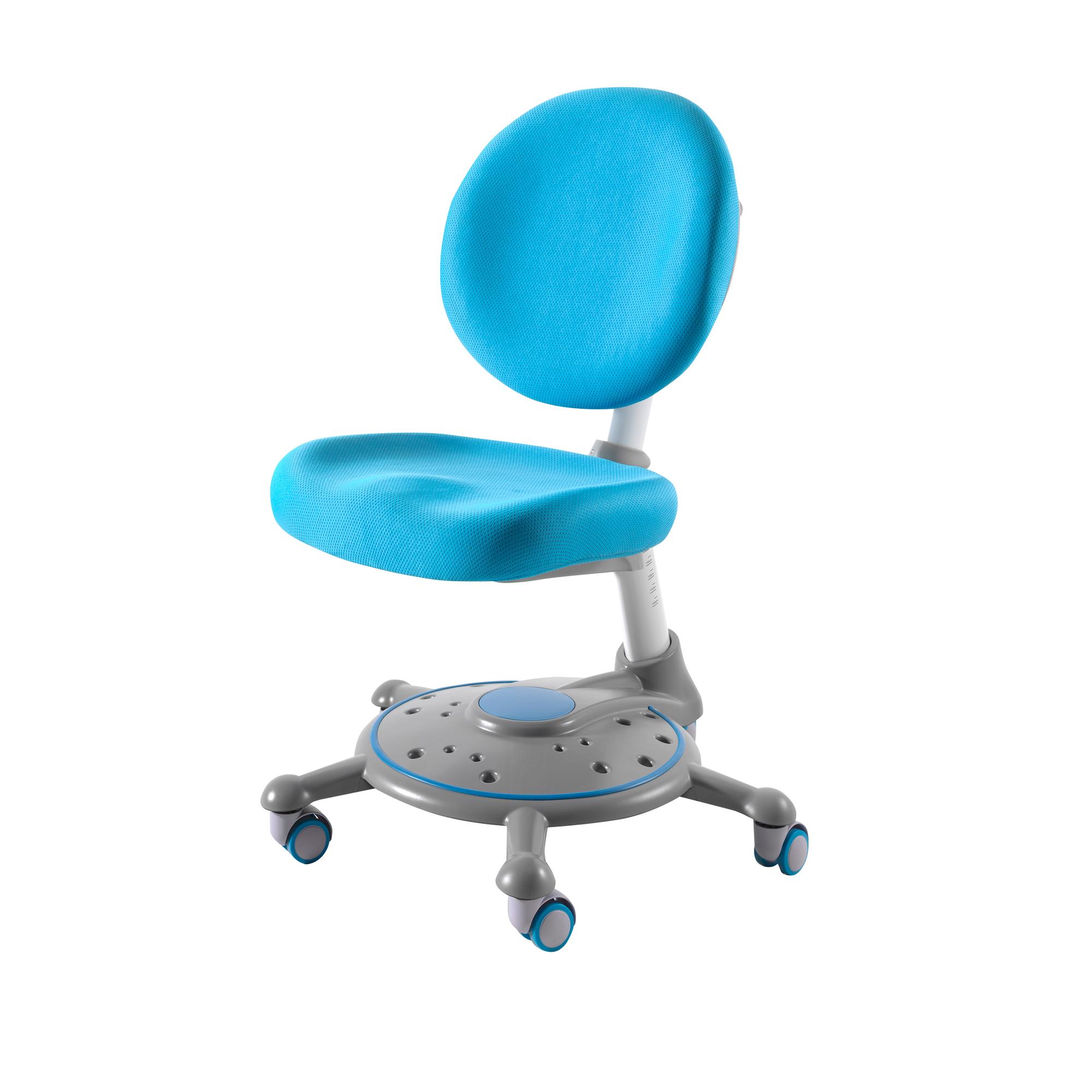 Kinder Schreibtischstuhl Comfortline Höhenverstellbar Blau