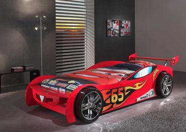 Autobett LE MANS - Liegefläche 90 x 200 cm - Rot
