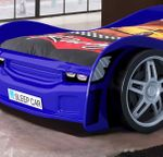 Autobett  NIGHT RACER - Liegefläche 90 x 200 cm - Blau