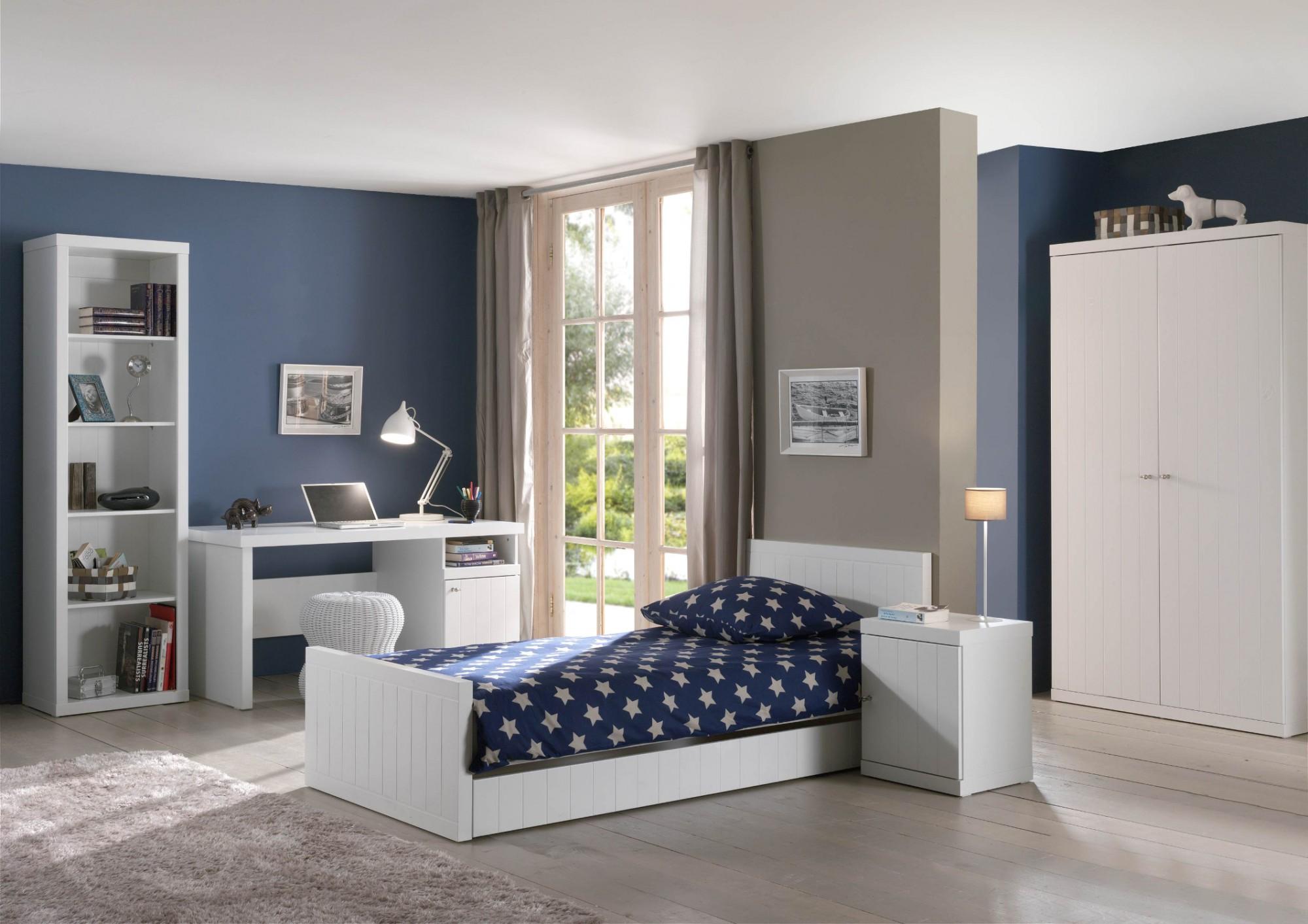 jugendzimmer robin komplett mit einzelbett. Black Bedroom Furniture Sets. Home Design Ideas