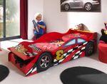 Autobett RACE CAR 3 - Liegefläche 70 x 140 cm - Rot