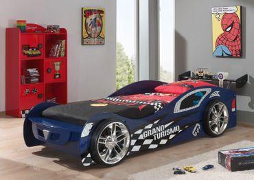 Autobett GRAND TURISMO - Liegefläche 90 x 200 cm - Blau