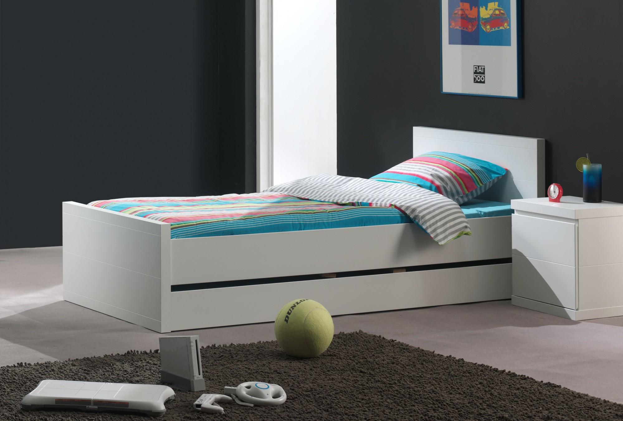 Jugendzimmer lara komplett mit einzelbett bettschublade for Jugendzimmer ratenkauf