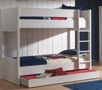 Jugendzimmer LARA - komplett mit Etagenbett, Bettschublade und Kleiderschrank 3-türig
