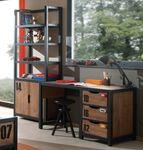 Jugendzimmer ALEX - komplett mit Schreibtisch und Regal