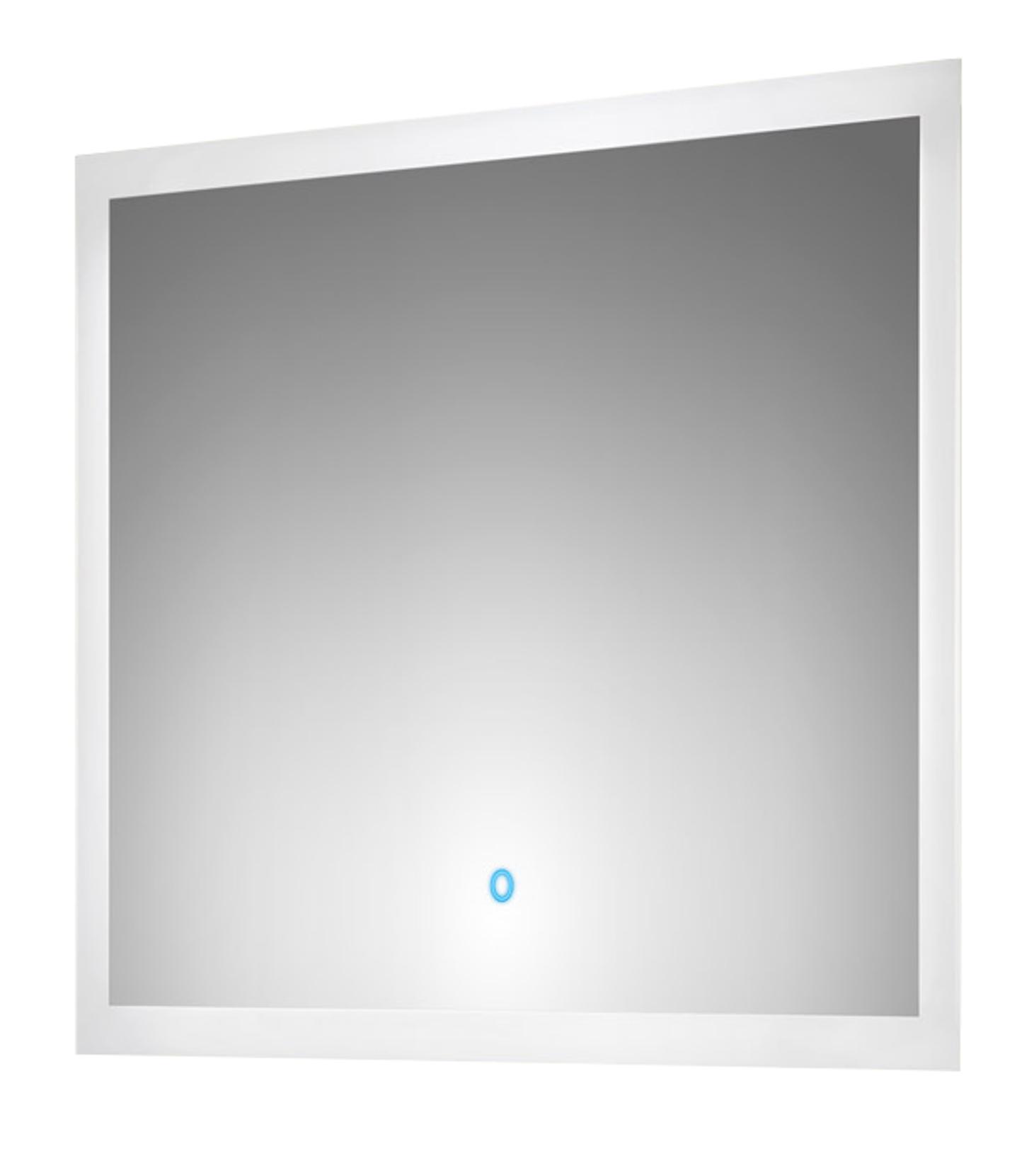 Bad spiegel levia mit led touch steuerung 80 cm breit for Spiegel 80 cm breit
