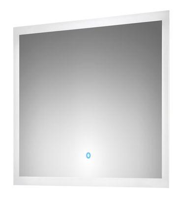 Bad-Spiegel LEVIA - mit LED-Touch-Steuerung - 80 cm breit - Weiß