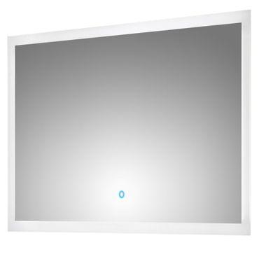 Bad-Spiegel LEVIA - mit LED-Touch-Steuerung - 100 cm breit - Weiß