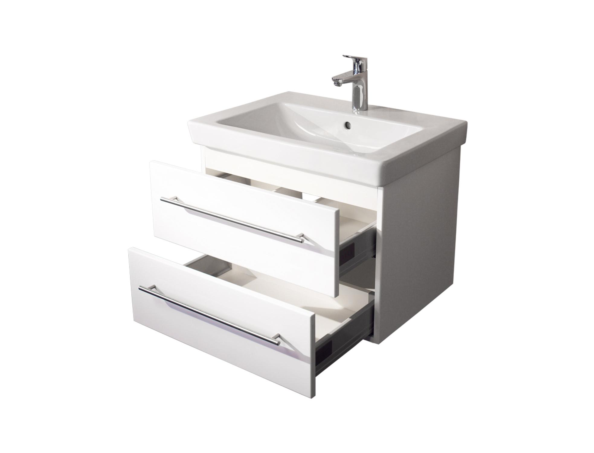 bad waschtisch mit villeroy boch becken subway 2 0 65. Black Bedroom Furniture Sets. Home Design Ideas