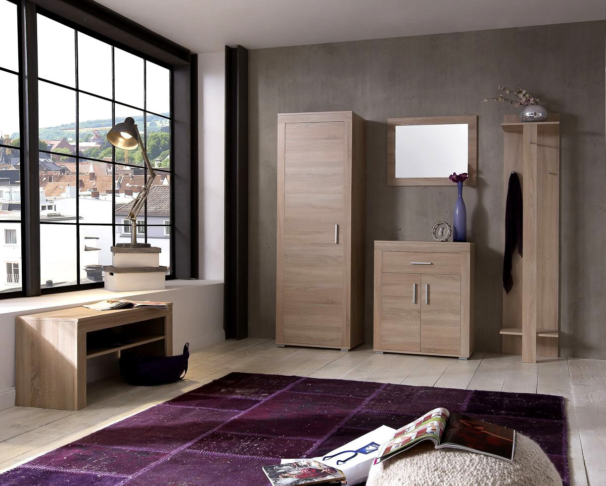 kommode lake 2 t rig 1 schublade 70 cm breit eiche sonoma wohnen sideboards. Black Bedroom Furniture Sets. Home Design Ideas