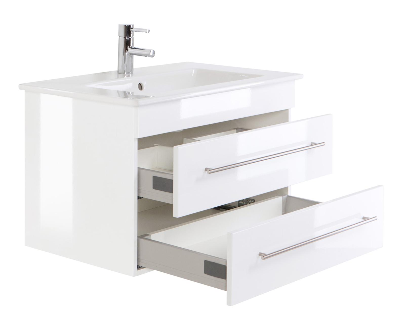 bad waschtisch mit villeroy boch becken venticello 80 cm breit wei bad waschtische. Black Bedroom Furniture Sets. Home Design Ideas