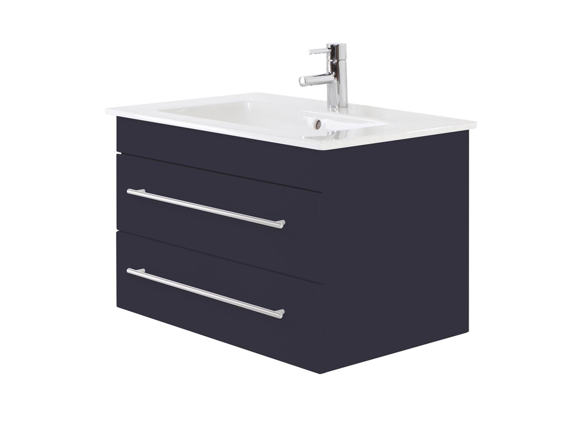 bad waschtisch mit villeroy boch becken venticello 80 cm breit grau bad waschtische. Black Bedroom Furniture Sets. Home Design Ideas