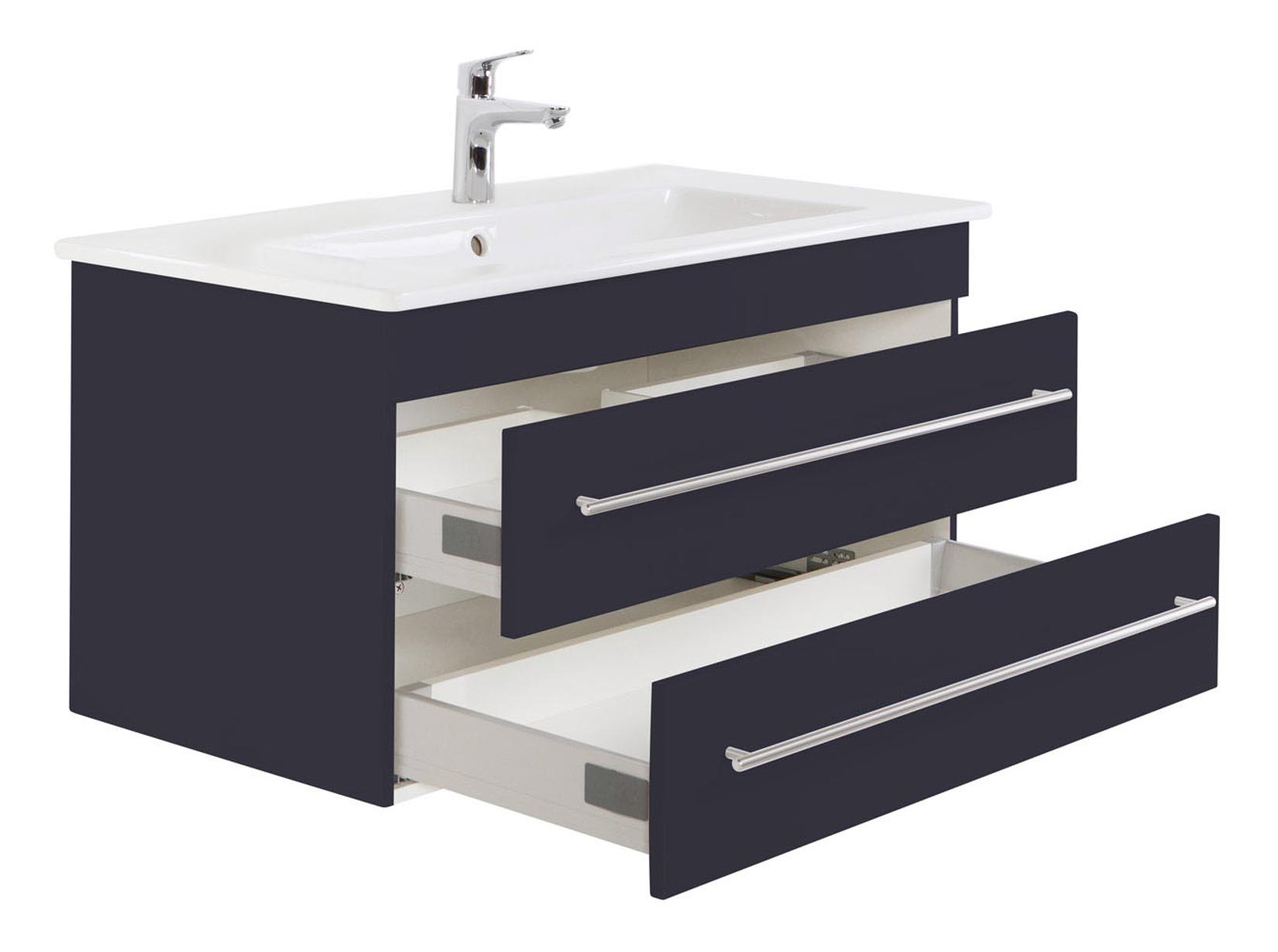 bad waschtisch mit villeroy boch becken venticello 100 cm breit grau bad waschtische. Black Bedroom Furniture Sets. Home Design Ideas