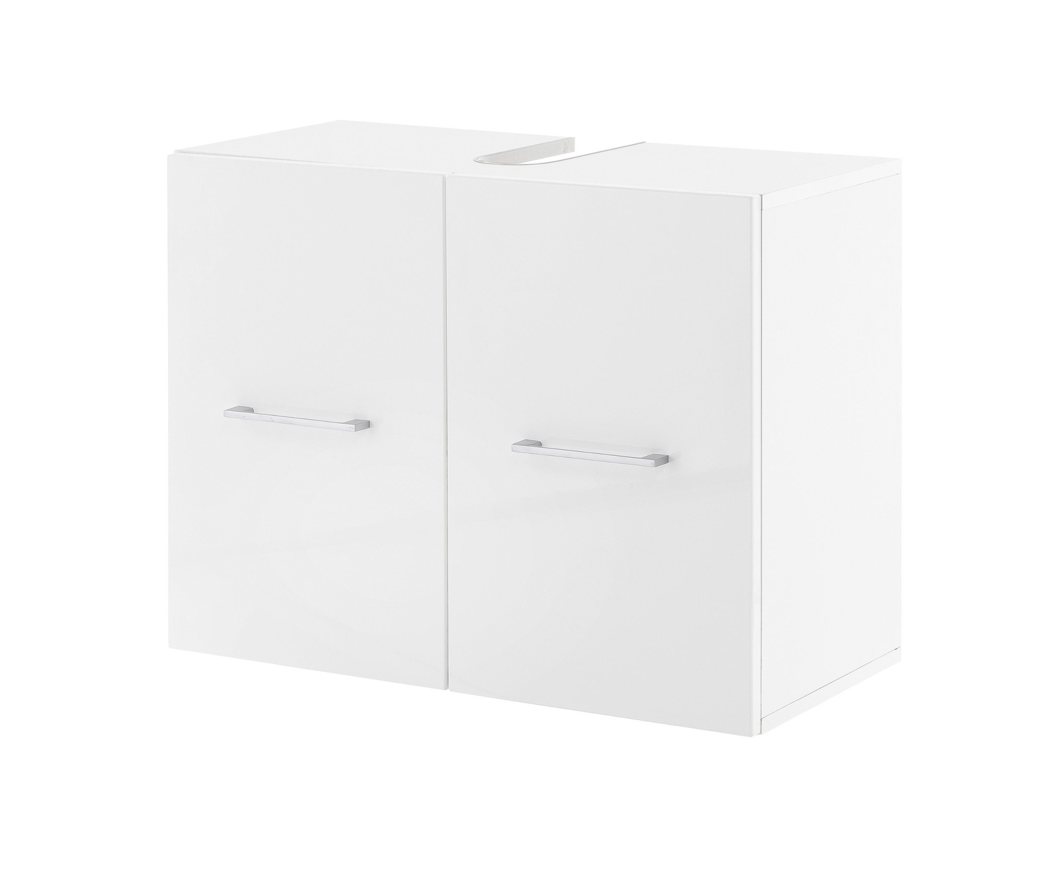 waschbeckenunterschrank ulm waschtisch unterschrank 2 t ren 65 cm breit weiss ebay. Black Bedroom Furniture Sets. Home Design Ideas