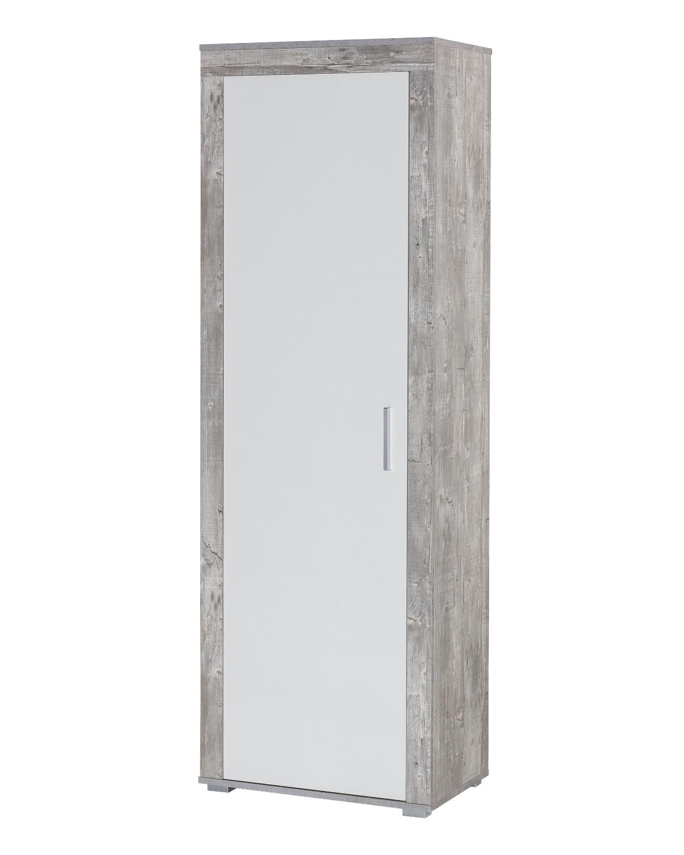 garderobenset lake 130 cm breit 3 teilig wei beton grau wohnen garderoben set. Black Bedroom Furniture Sets. Home Design Ideas