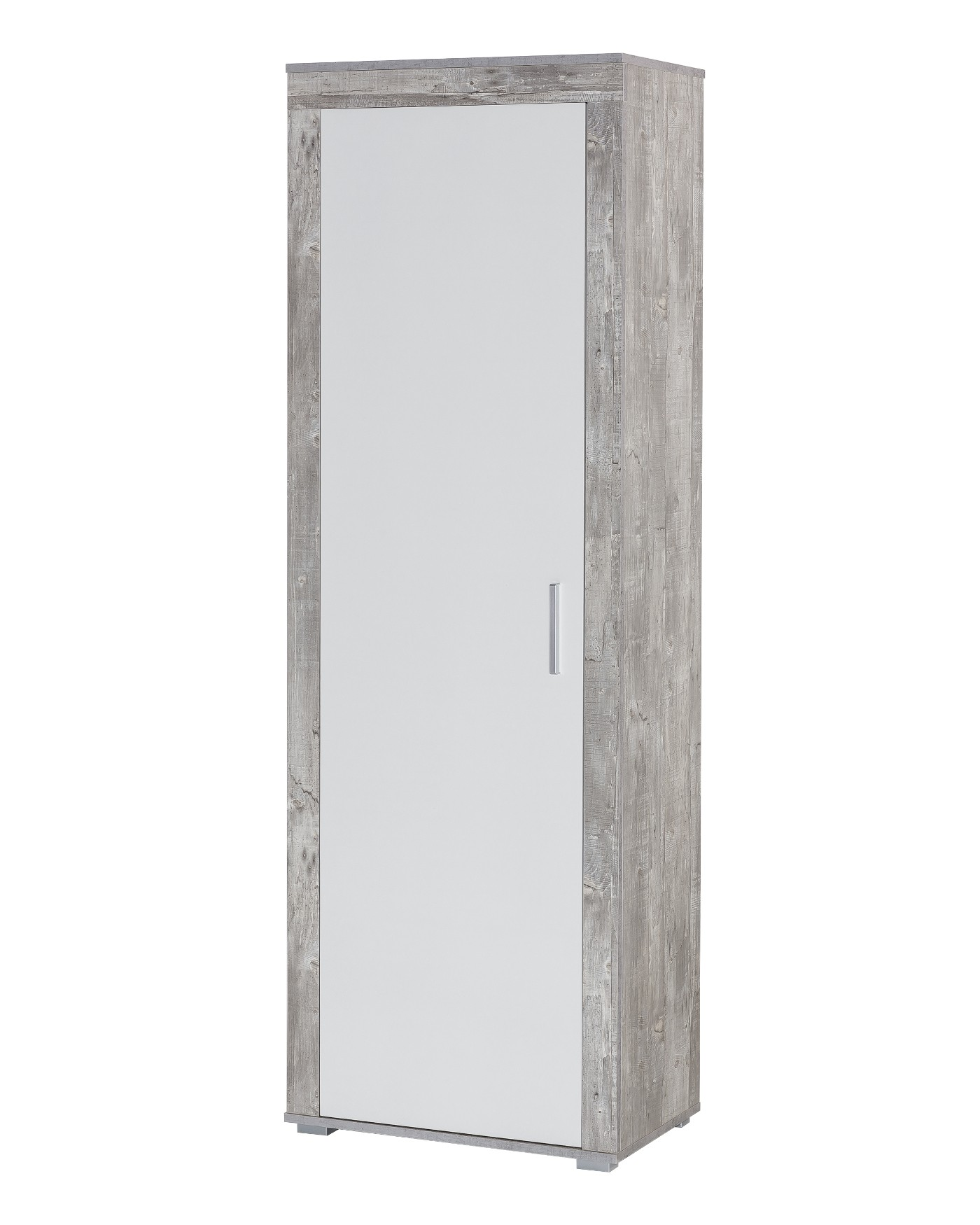garderobenset lake 130 cm breit 3 teilig wei beton. Black Bedroom Furniture Sets. Home Design Ideas