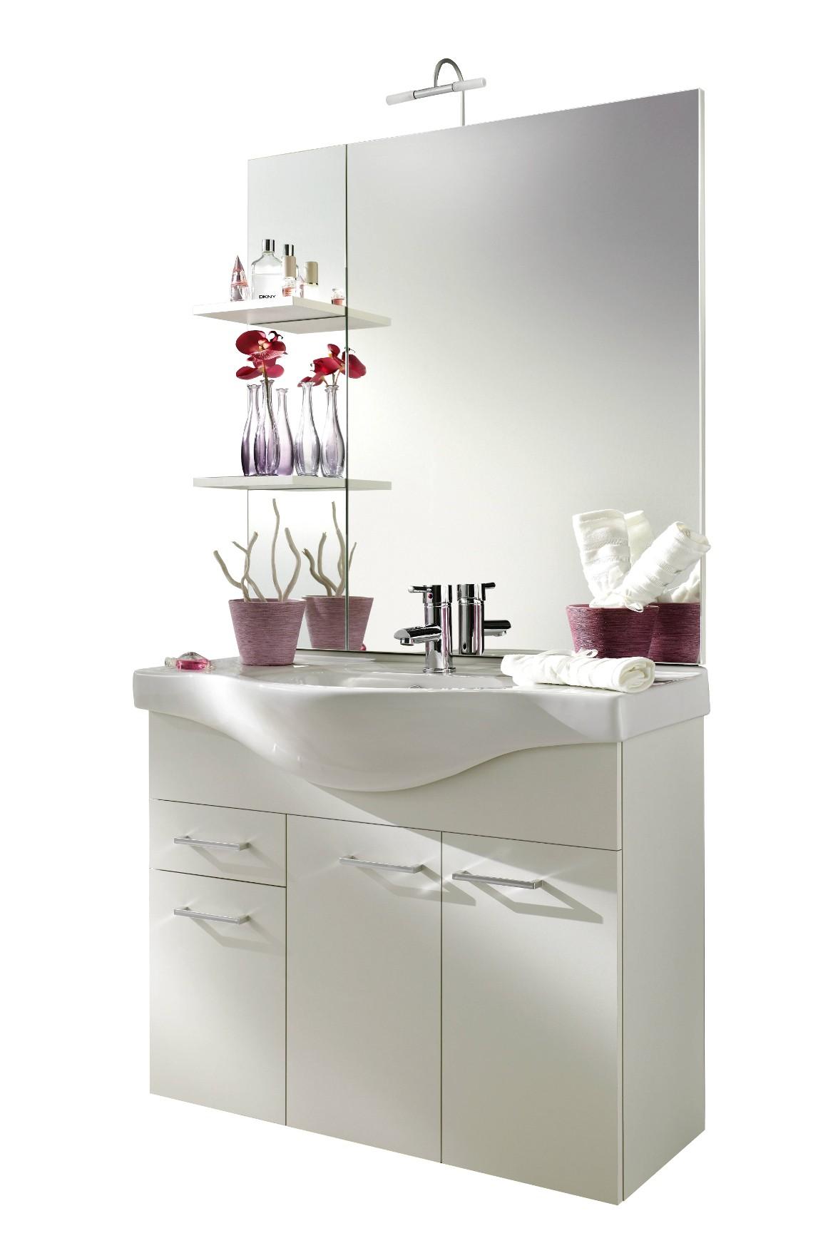 waschplatz adelano 6 teilig 89 cm breit wei bad badm belsets. Black Bedroom Furniture Sets. Home Design Ideas
