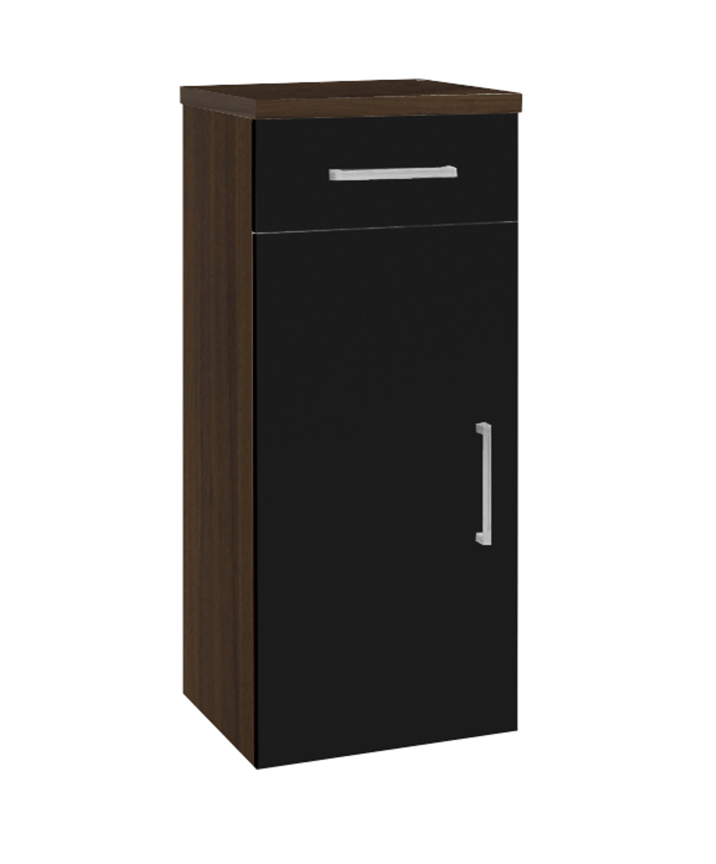 posseik bad unterschrank adelano badschrank badezimmerschrank 30 cm schwarz ebay. Black Bedroom Furniture Sets. Home Design Ideas