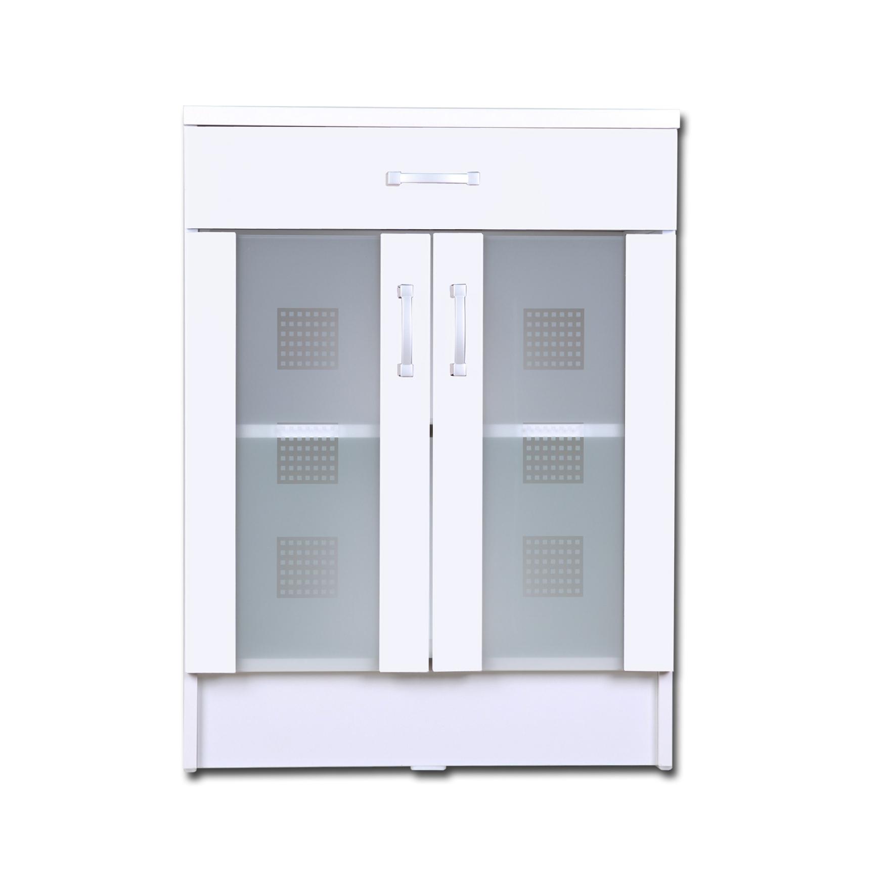 bad unterschrank nizza 2 t rig 1 schublade 60 cm. Black Bedroom Furniture Sets. Home Design Ideas