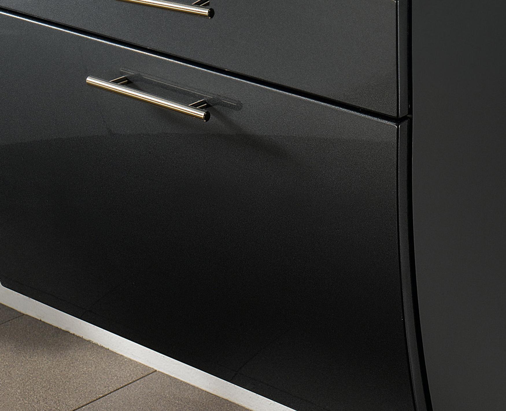 bad unterschrank salona 1 klappe 1 schublade 70 cm. Black Bedroom Furniture Sets. Home Design Ideas