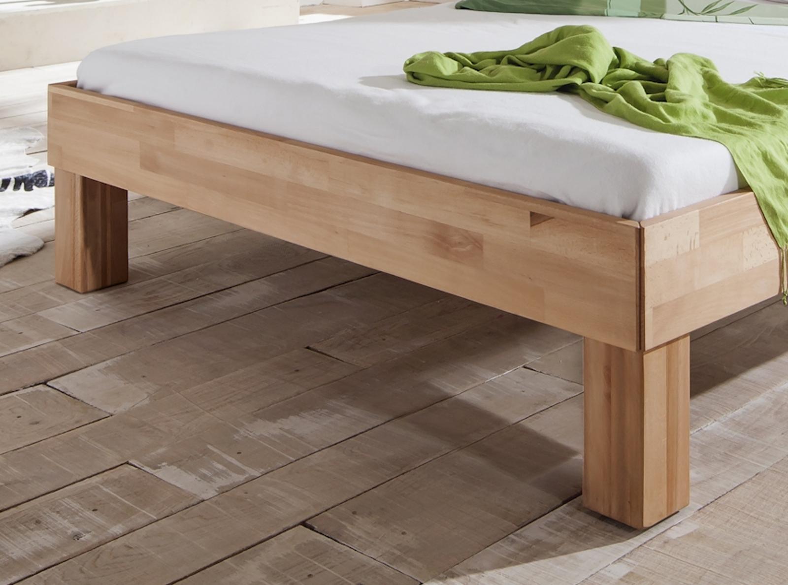 futonbett kleopatra liegefl che 140 x 200 cm massivholz ge lte kernbuche wohnen betten. Black Bedroom Furniture Sets. Home Design Ideas