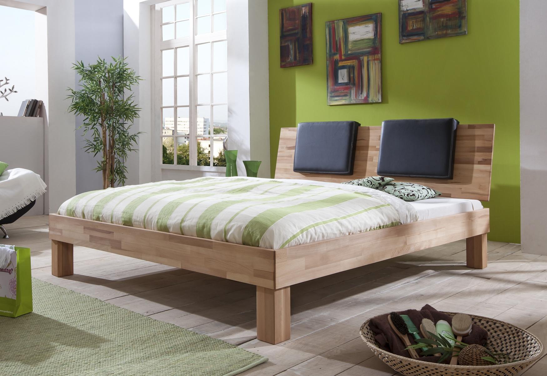 Futonbett max liegefl che 140 x 200 cm massivholz for Bett japanisch