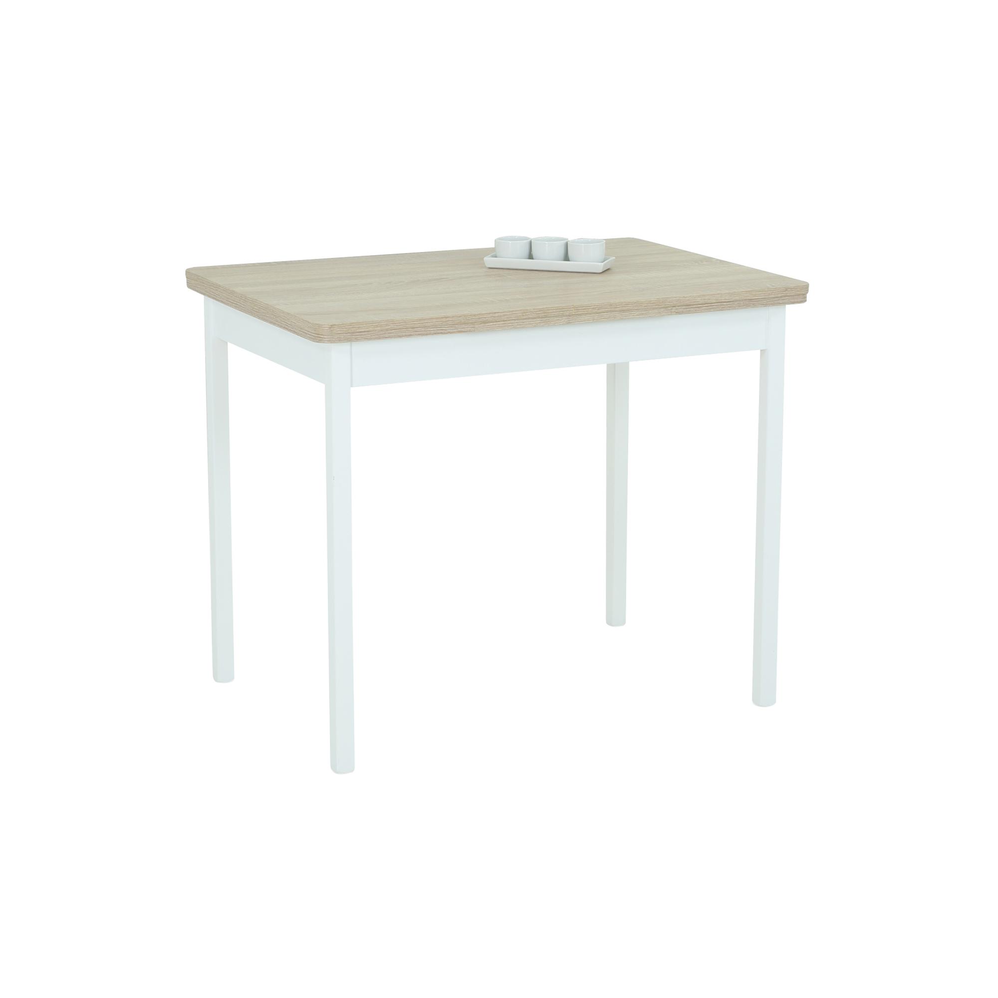 Esstisch KIEL I Tischplatte ausziehbar 90 x 65 cm